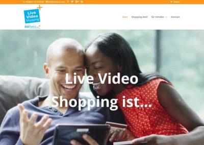 Live-video-shopping Portal