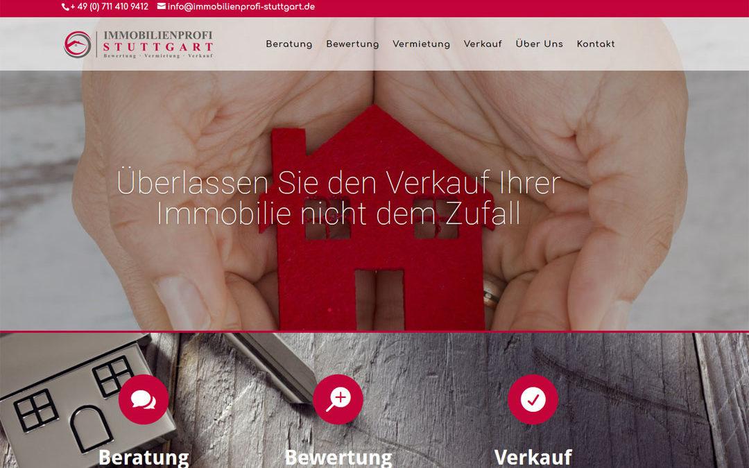 Webdesign für Immobilienprofi Stuttgart