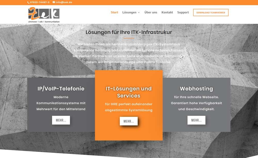 Zek Stytemhaus für ITK Lösungen