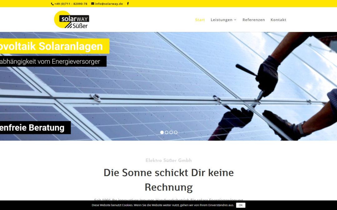 Webdesign Solarway