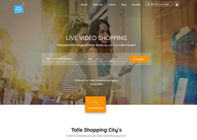 live-video-shopping.com Werbeplattform