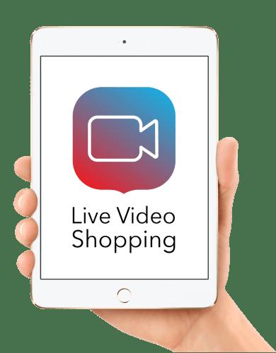 App für Live Video Shopping